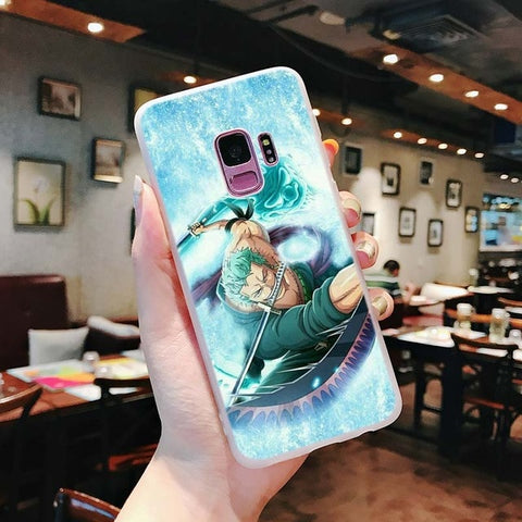 One Piece Phone Case Samsung <br> Zoro Tatsumaki - Luffy Shop