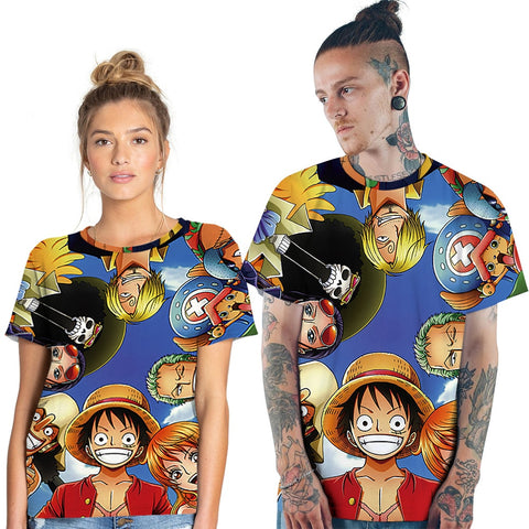one piece couple shirt