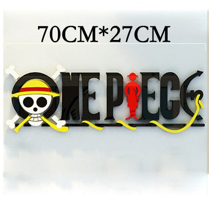 one piece sticker