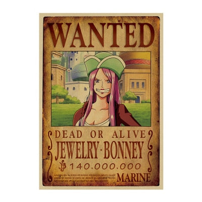 jewelry bonney wanted poster