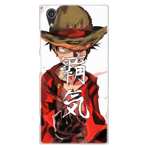 One Piece Sony Case <br> Luffy Water Painting
