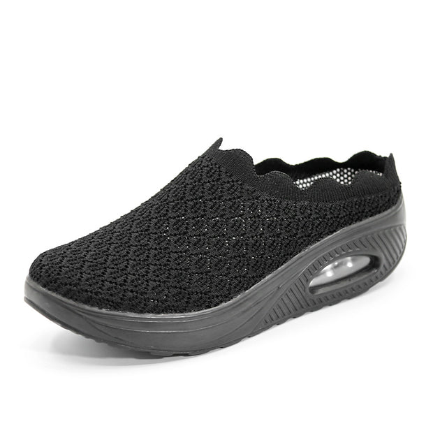 women's slip-on comfortable breathable summer casual walking shoes