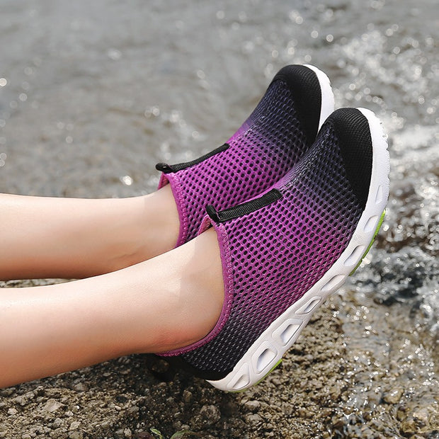 Women's Breathable Platform Casual Shoes