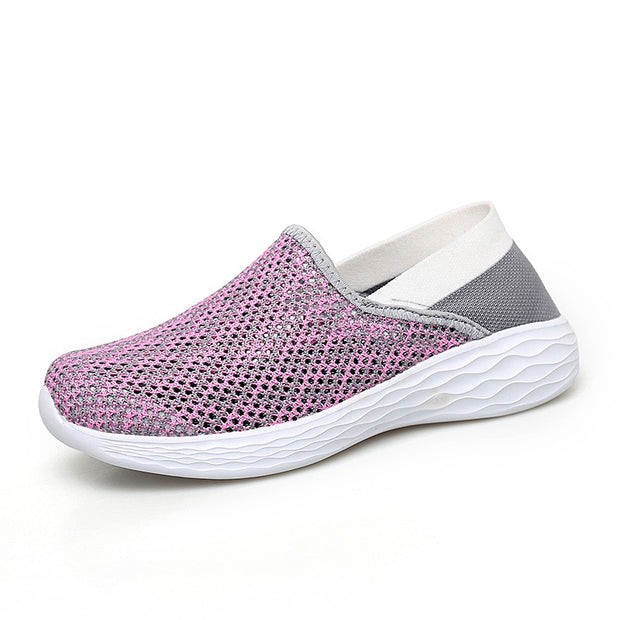 Women's breathable flat soles