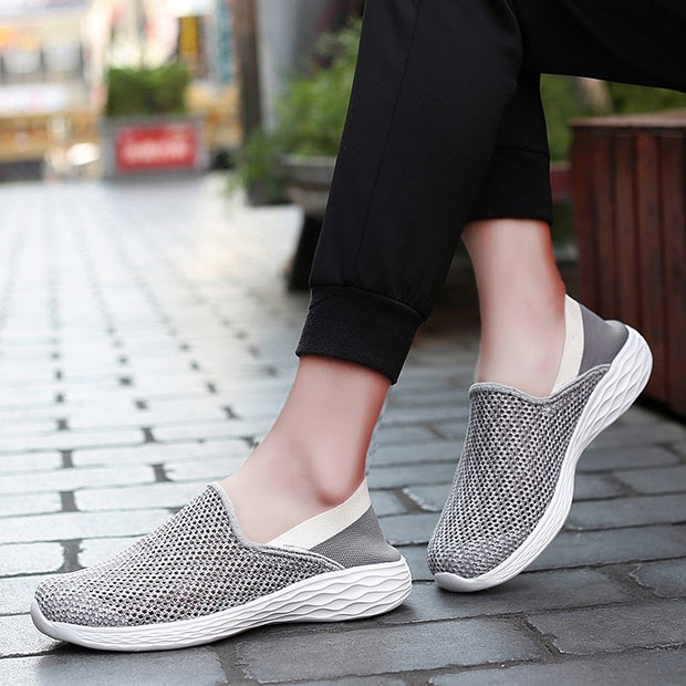Men's breathable flat soles