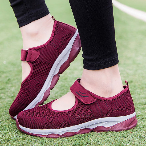 Women's Casual Mesh Flat  Shoes