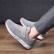 Women's Breathable Platform Slip-on Sneakers