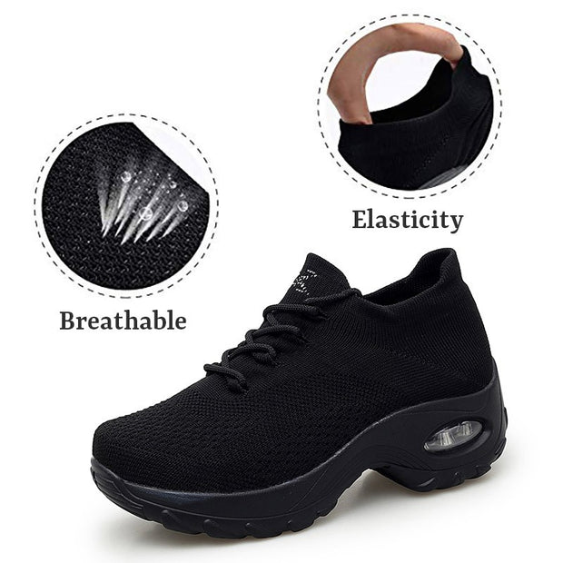 all black tennis shoes womens