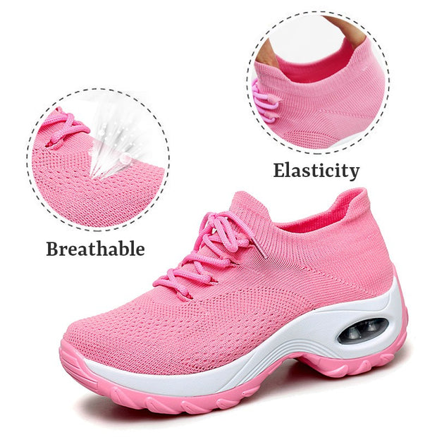 Women's Flying Woven Non-slip Breathable Comfortable Shoes for y