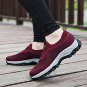 Women's breathable athletic tennis casual shoes