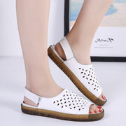 Women's breathable pretty leisure flat sandals slippers