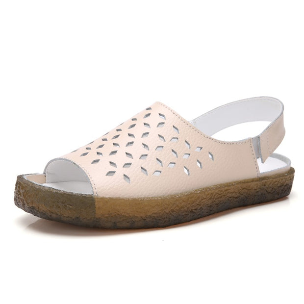 womens pink sandals