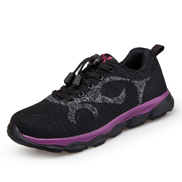 Women's breathable trendy non-slip tennis sneakers