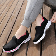 Women's breathable comfortable simple slip-on flat loafers