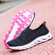 Women's breathable air cushion platform tennis sneakers