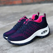 Women's air cushion fashion breathable casual tennis running sneakers
