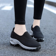 Women's hollowed-out breathable cool sporty cushion sneakers