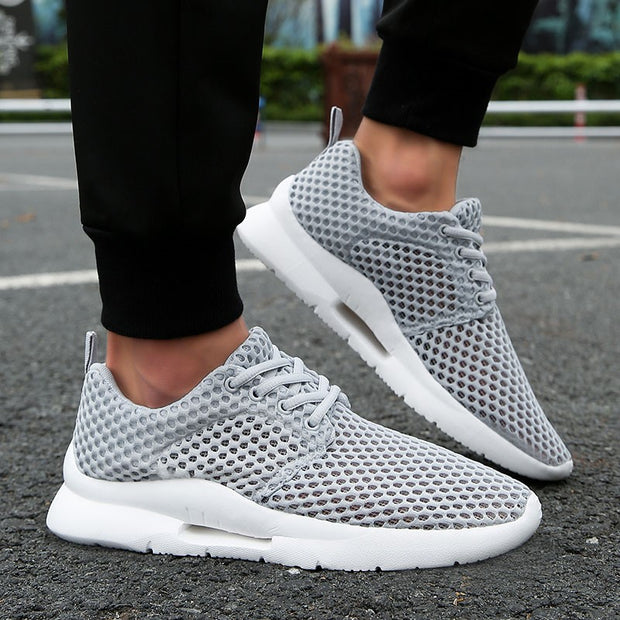 Women's mesh fabric breathable ilghtweight fashion tennis sneakers