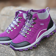 Women's fashion outdoor athletic anti-skid hiking boots