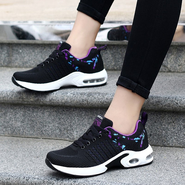 Women's fashion cushion street leisure sneakers