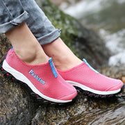 Women's simple fashion non-slip sporty hiking sneakers
