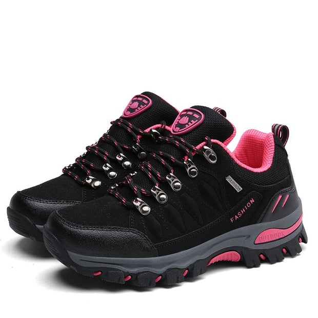 Women' outdoor sporty anti-skid breathable stable hiking sneakers