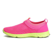 Women's mesh fabric breathable flat outdoor sporty sneakers