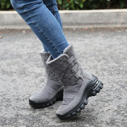 Women's winter thermal plush non-slip platform boots CCL