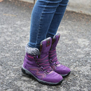 Women's winter thermal villi anti-skid high top boots