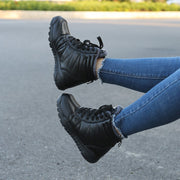 womens black high top sneakers