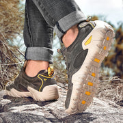 Man's outdoor athletic breathable popular joker hiking sneakers
