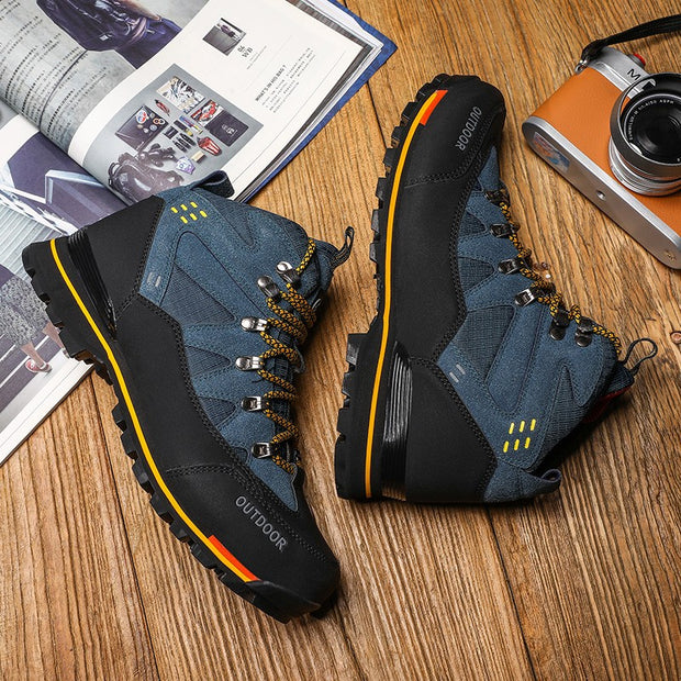 Man's outdoor athletic stylish popular joker hiki hiking sneakers