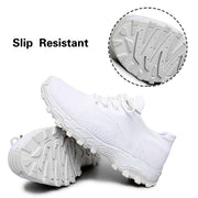 Man's breathable comfortable portable elastic tennis leisure flat sneakers