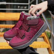 Women's winter thermal velvet anti-skid simple fashion sporty leisure boots