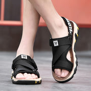 Man's summer simple fashion trending slippers sandals
