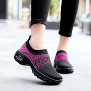 Women's summer spring breathable lightweight leisure air cushion sneakers