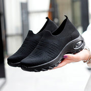 Women's air cushion elastic non-slip leisure sneakers