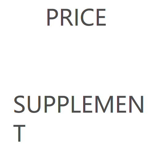 Price Supplement 8