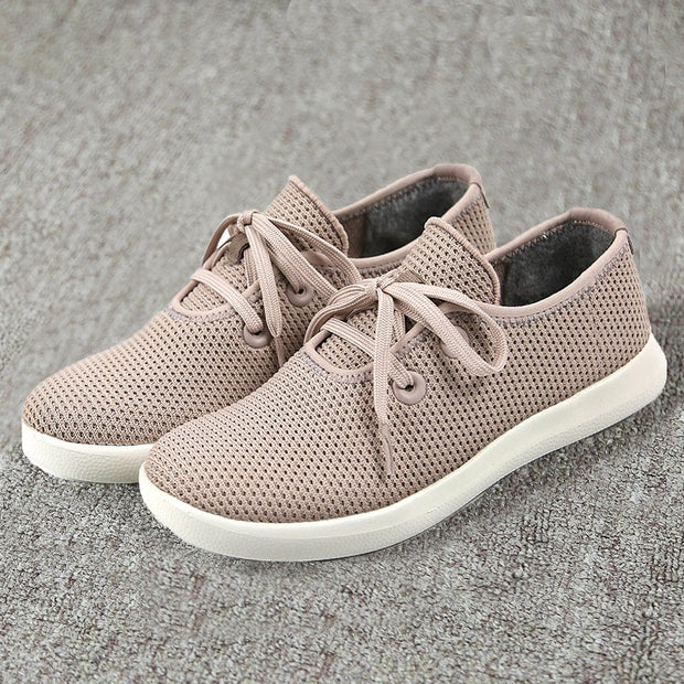 Women's breathable lightweight simple joker leisure sneakers CL