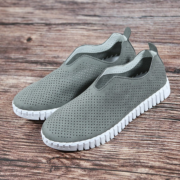 Women's tennis breathable simple fashion flat casual sneakers