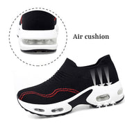 women's fashion trending air cushion elastic breathable running sneakers