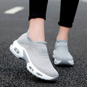 women's fashion trending air cushion elastic breathable running sneakers CL