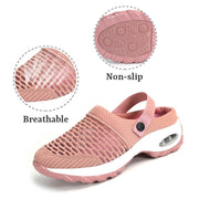 women's breathable casual air cushion elastic sneakers