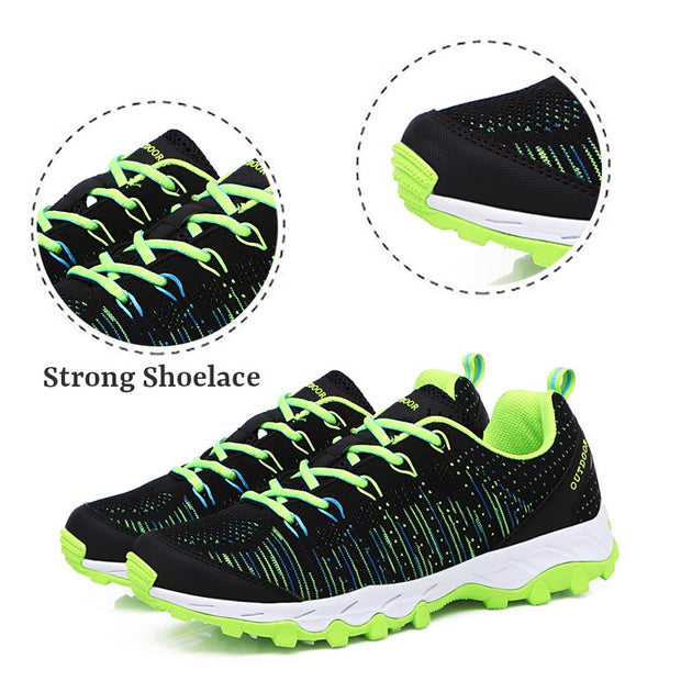 Men's slip-resistant outdoor sporty comfortable elastic sports shoes