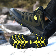 men's winter thermal slip-resistant high top shoes