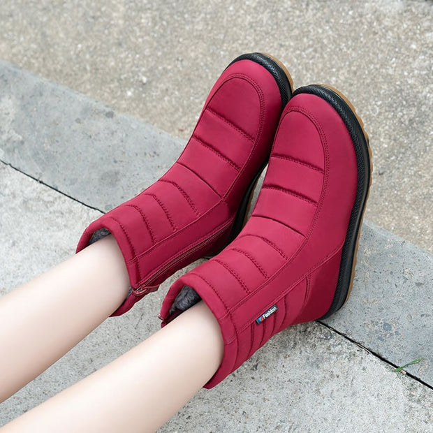 women's winter thermal cotton comfortable platform casual boots