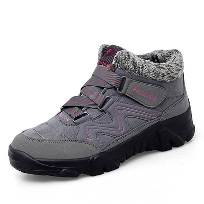 Women's winter thermal outdoor villi comfortable high top shoes rubber