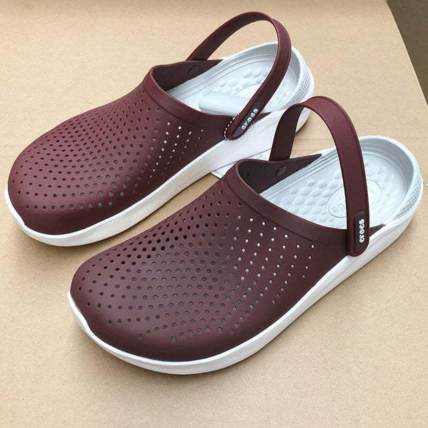 unisex comfortable breathable flat slippers