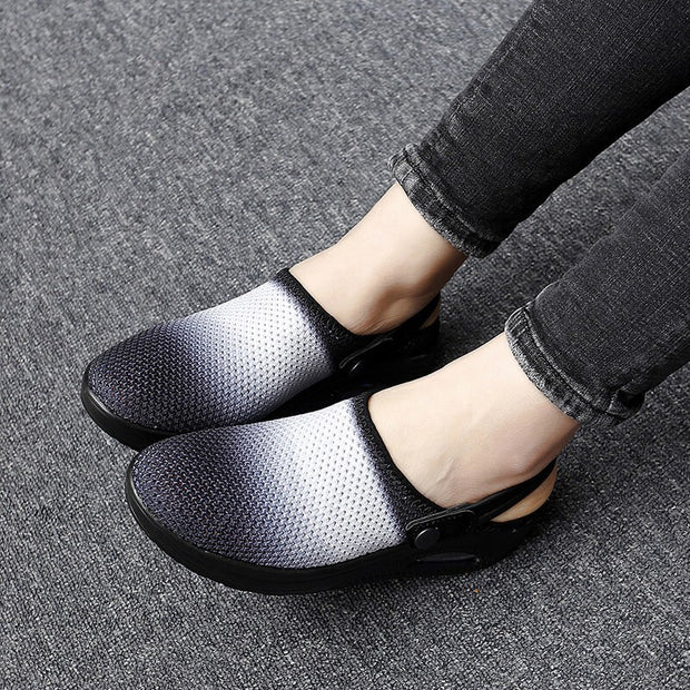 Women's Summer Spring Breathable Slip-on Walking Sandals