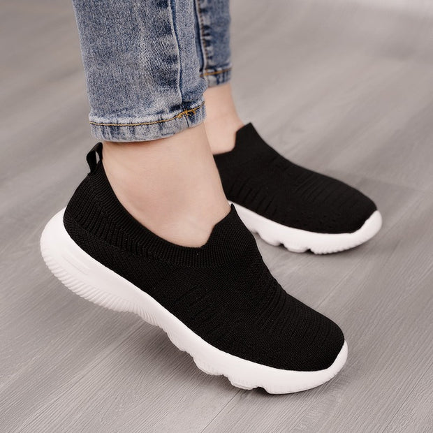 Women's  Summer Breathable Slip-on Casual Walking Shoes